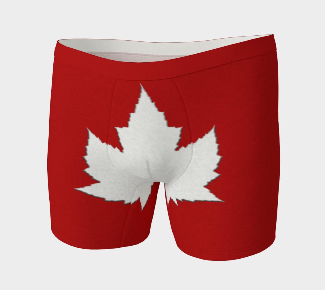 Cute Canada Underwear Canada Boxer Shorts preview #3