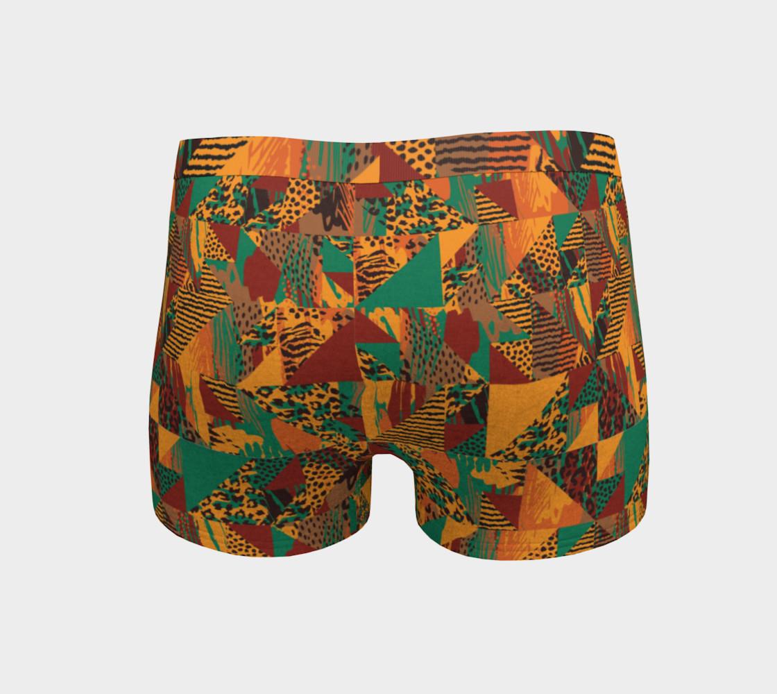 Abstract Safari Print Boyshorts preview #4