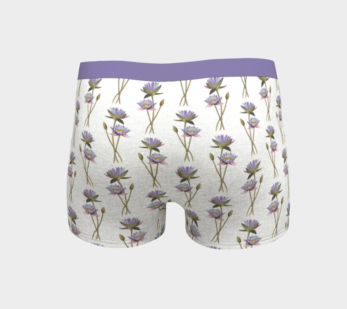 Aperçu de Lotus flowers pattern Boyshort #4