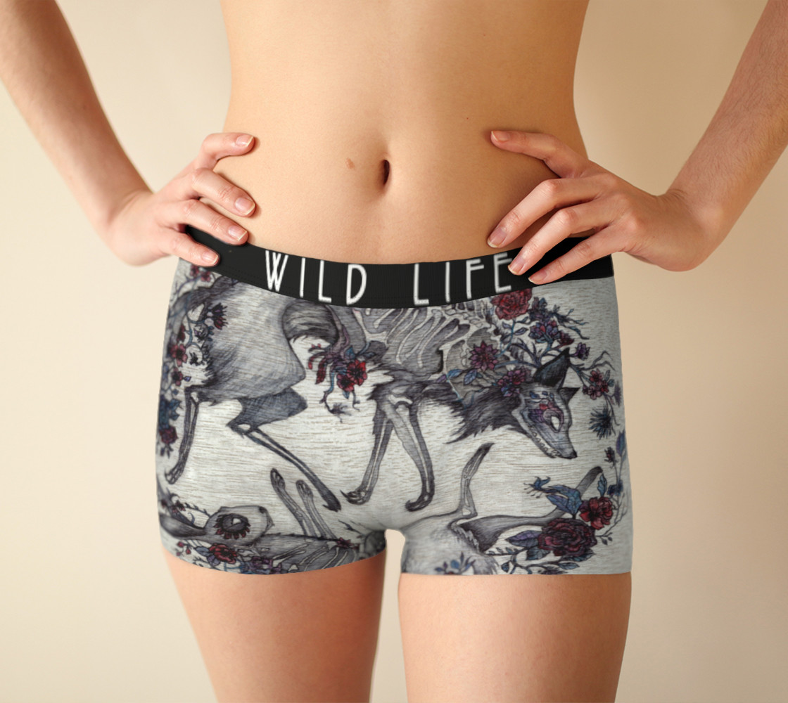 Wild Life Boy Short Black Band preview #1