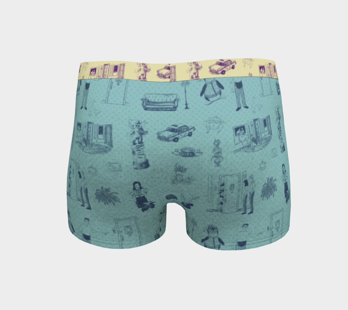 Friends Boyshorts in blue preview #4