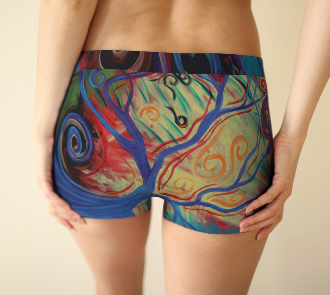Tree of a Colourful Life Boyshorts preview #2