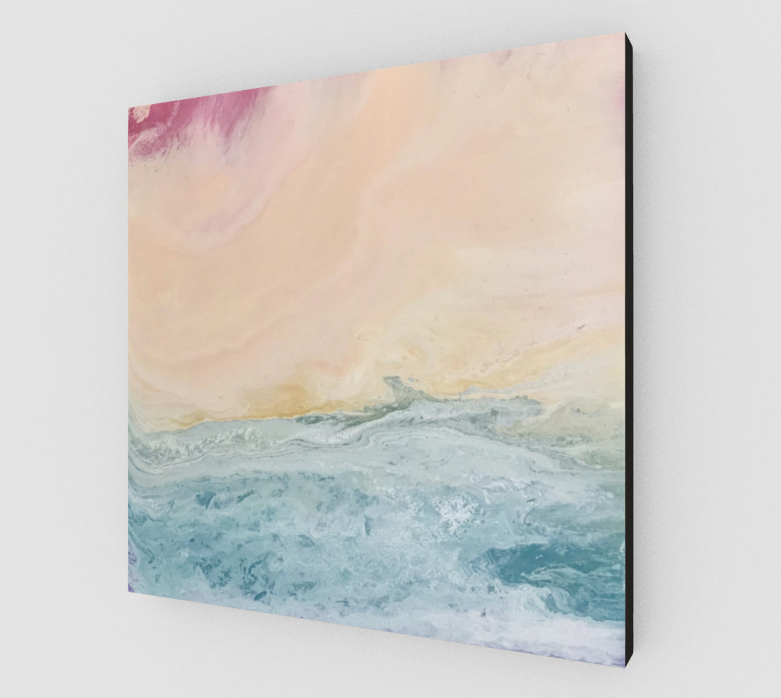 Sunset Over the Sea preview #2