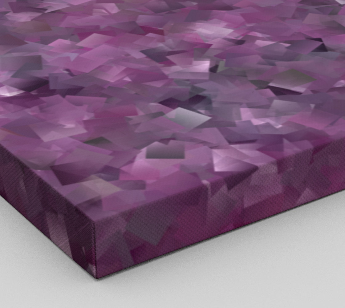 Muted Mauve In Cubes preview #3