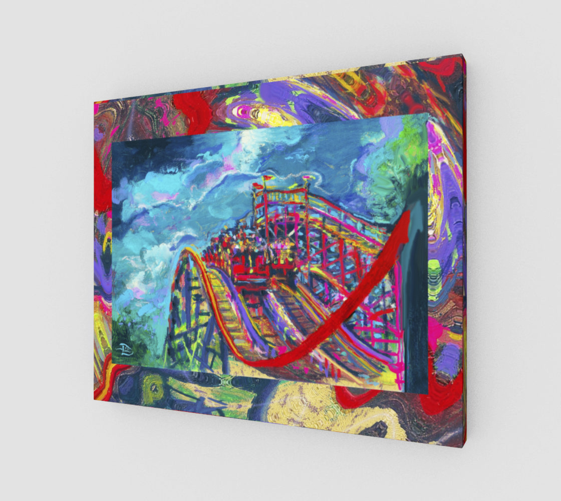 Roller Coaster Circus Fashion-Match / Virtual-Frame-In-Print.__(' preview')