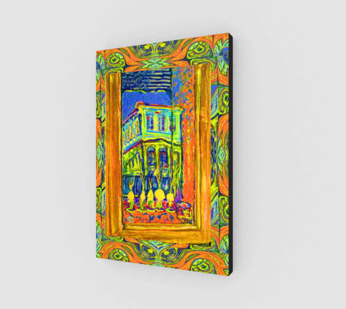 Channeling Vincent / Virtual Vincent™ Window Wall Print preview #2