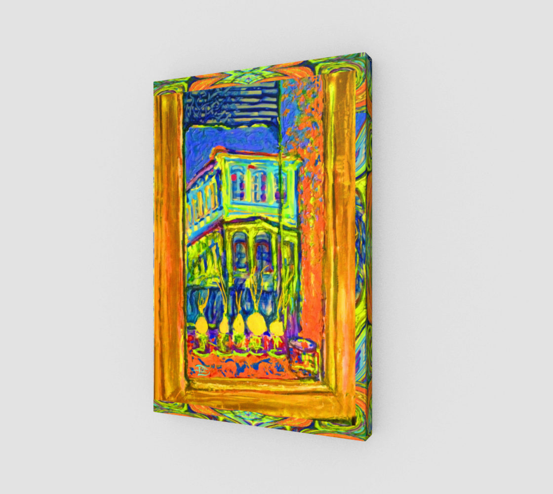 Channeling Vincent / Virtual Vincent™ Window Wall Print preview #1