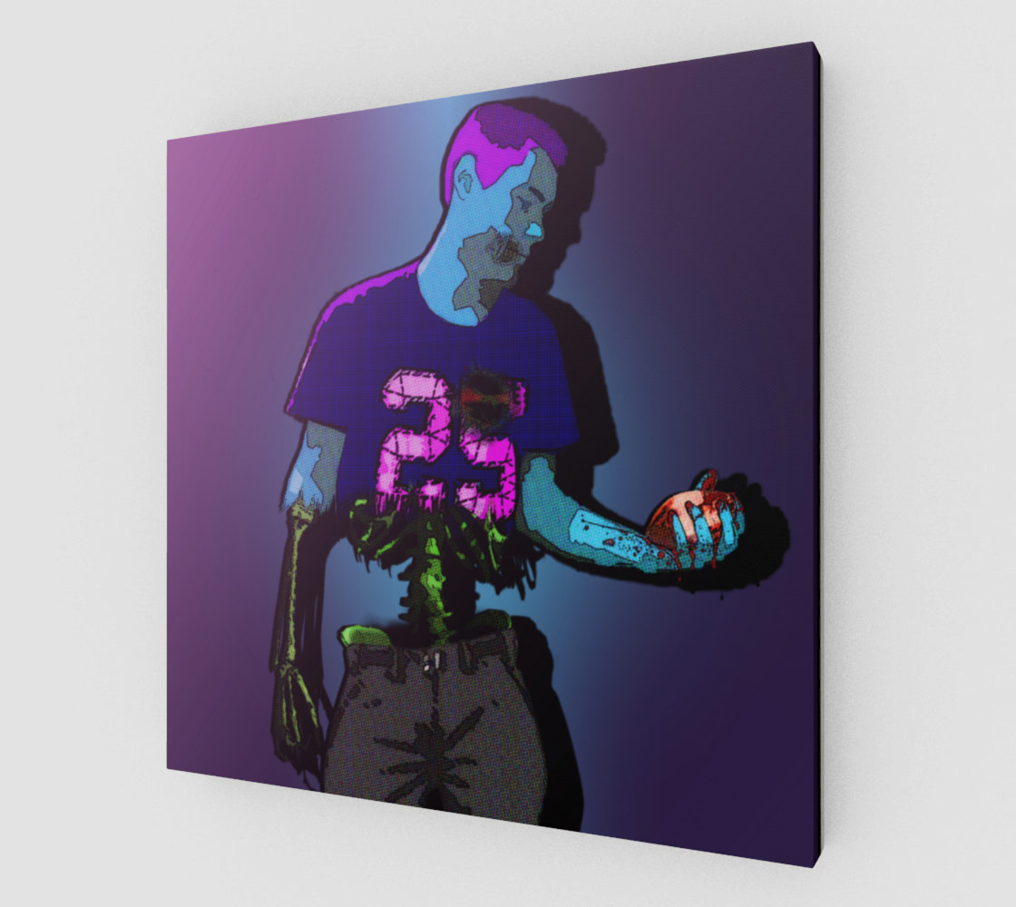 CANVAS Rick Genest man-zombies #4 Art Print Poster