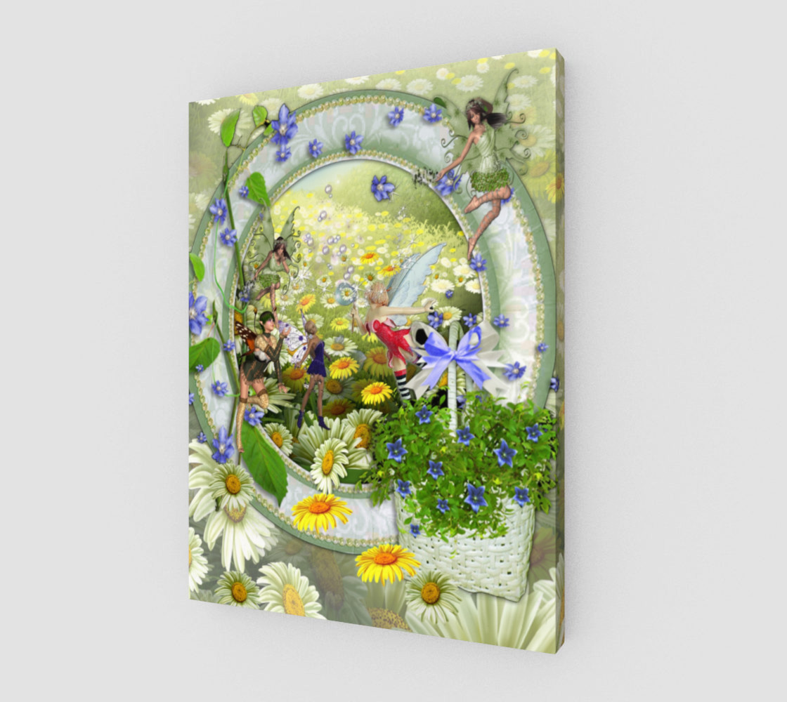 Spring fairies Miniature #2