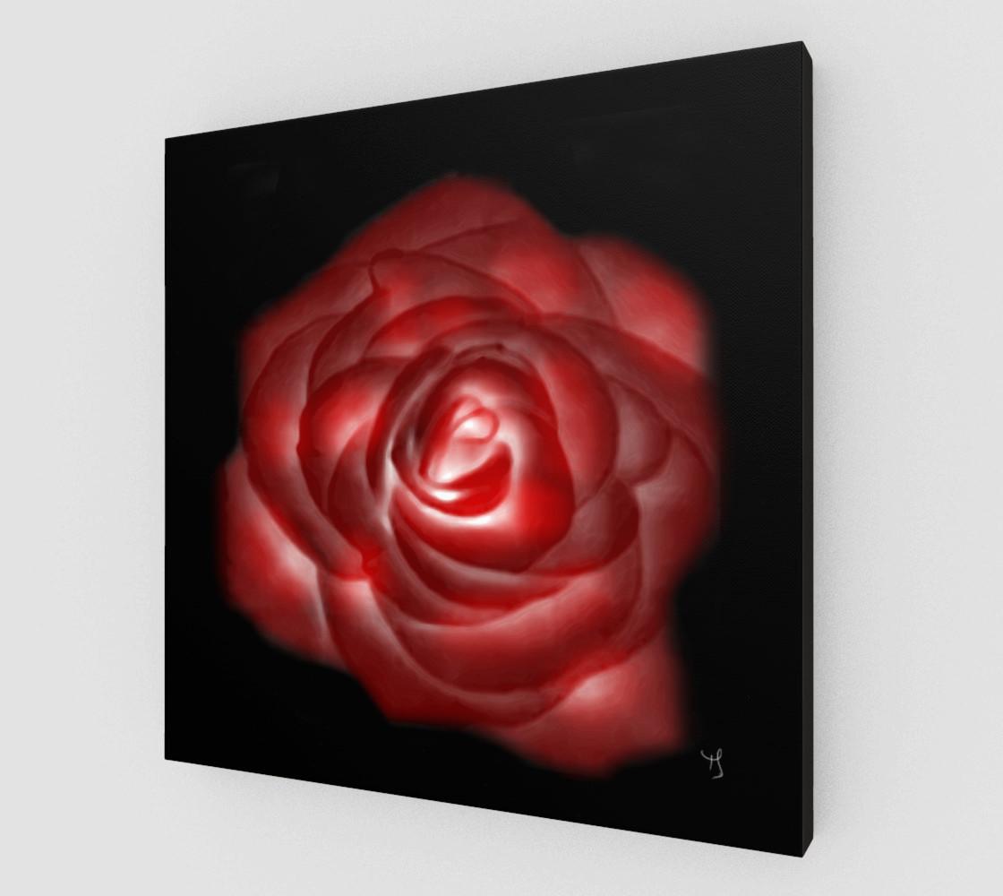 Aperçu de Glowing Rose Fine Art print by Tabz Jones #2