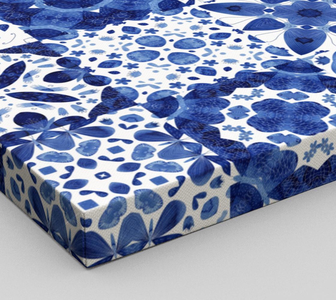 Indigo Watercolor Tiles preview #3