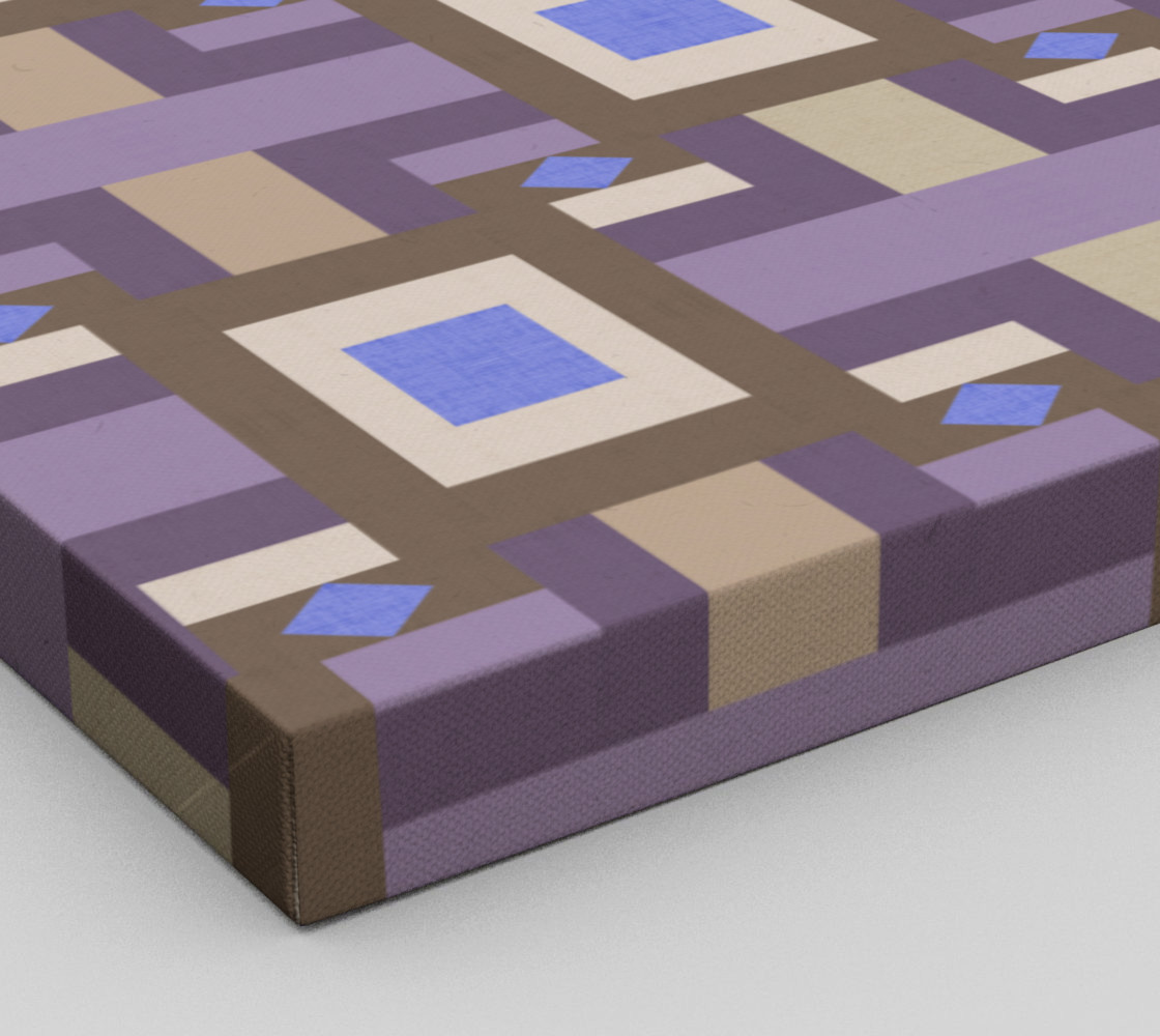Winter geometry pattern preview #3