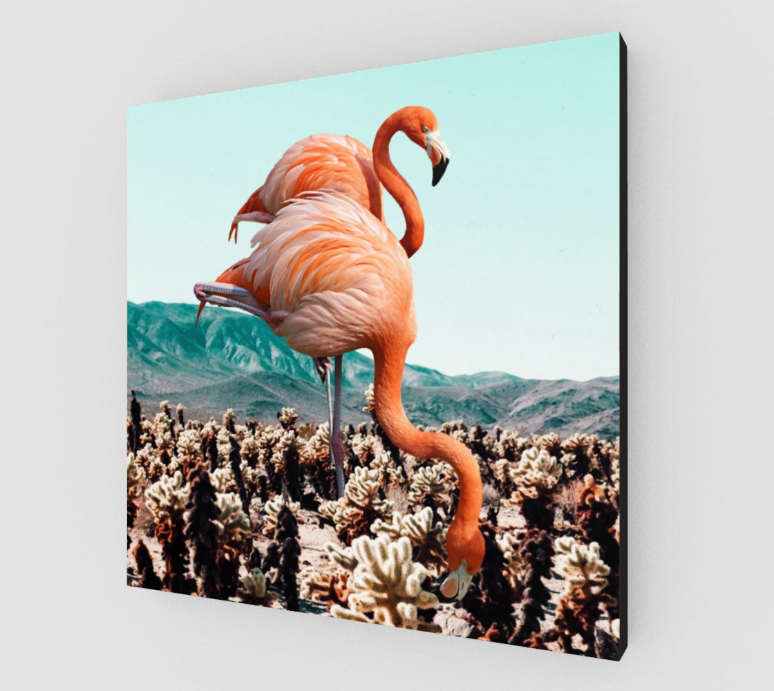 Flamingos In The Desert preview #2
