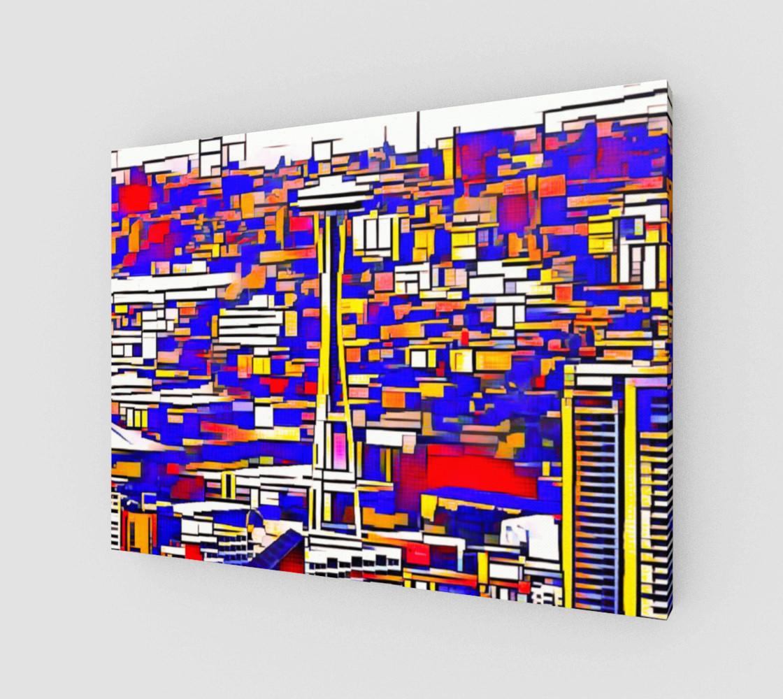 Aperçu de Space Needle Cubism  #1