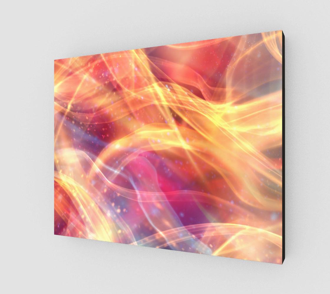 Aperçu de Orange Plasma Design  #2