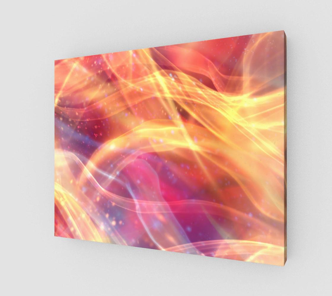 Aperçu de Orange Plasma Design  #1