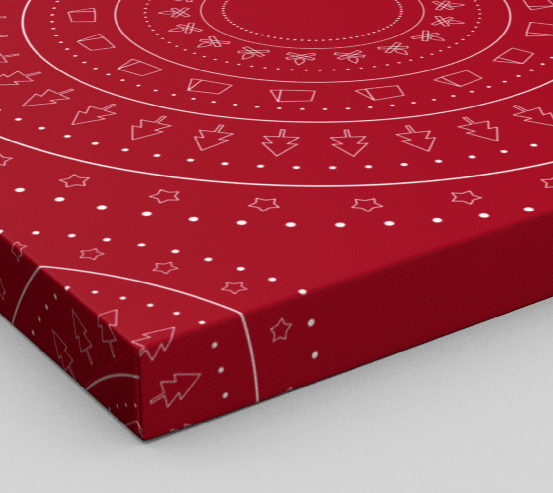 christmas geometric objects preview #3