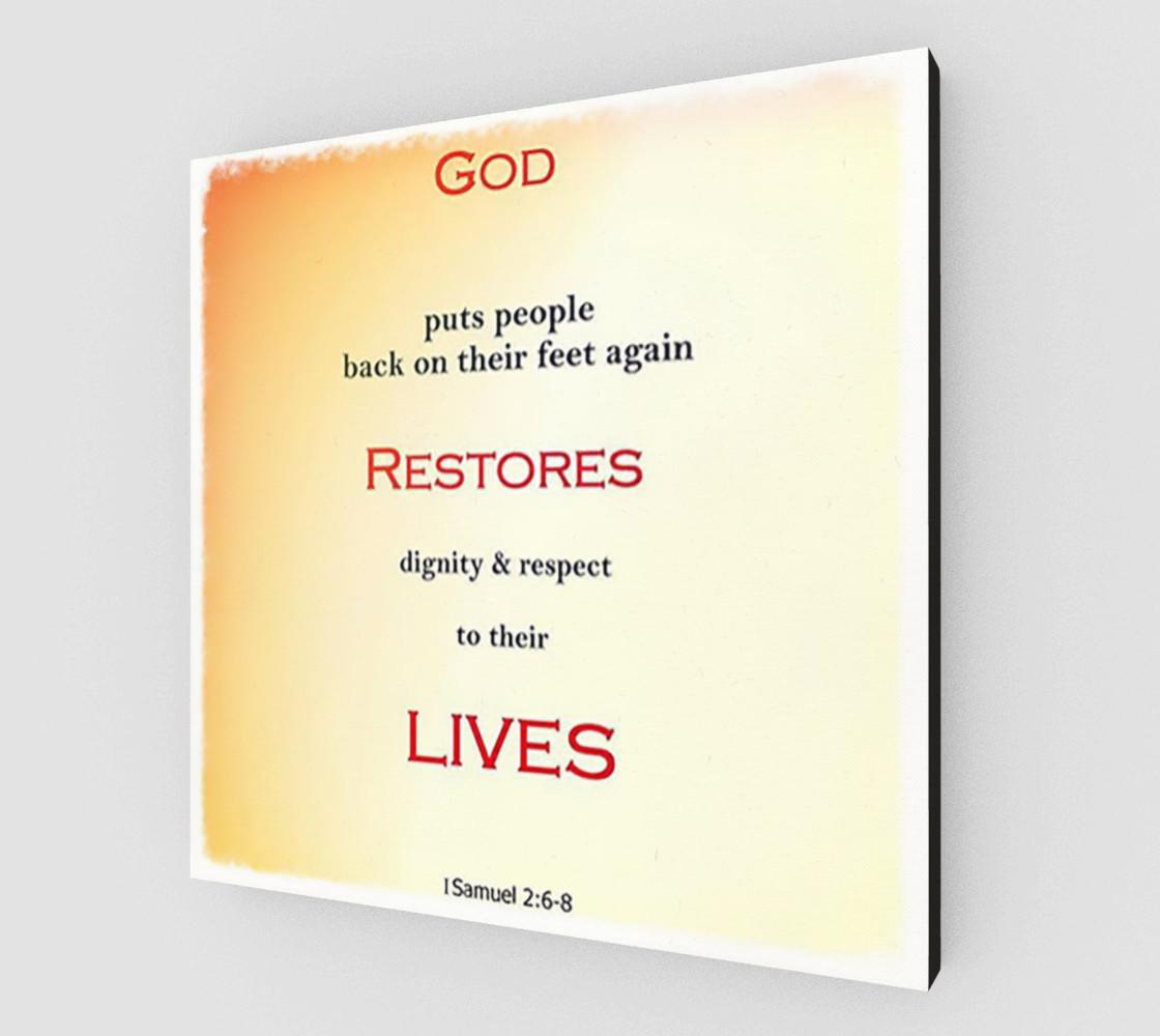 Aperçu de God Restores Lives #2