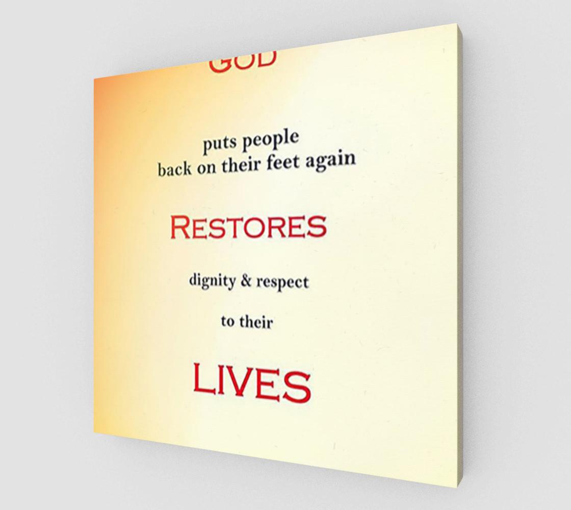 Aperçu de God Restores Lives #1