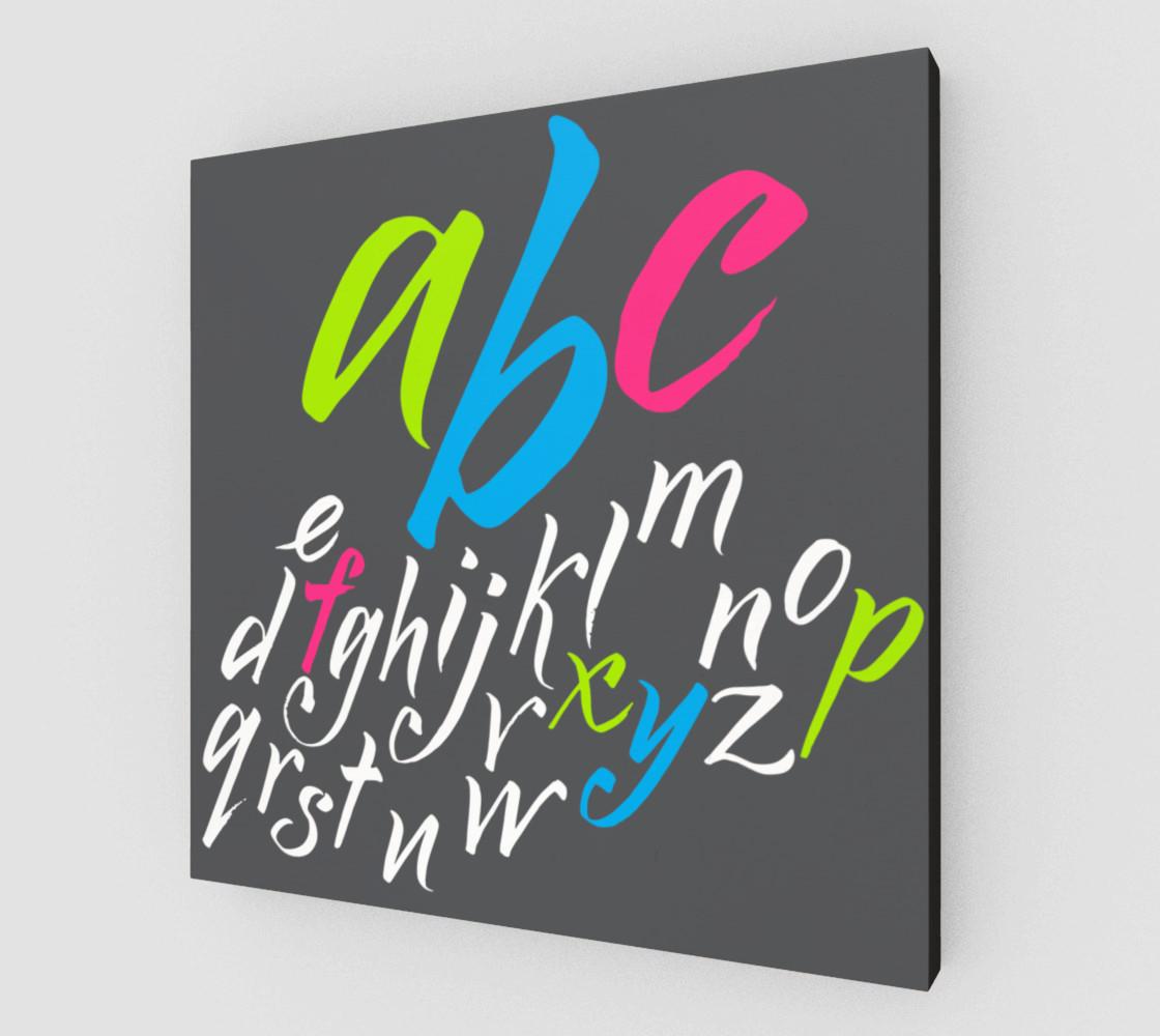Aperçu de alphabet #2