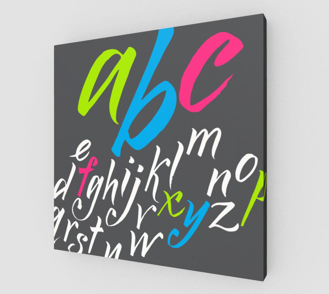 Aperçu de alphabet #1