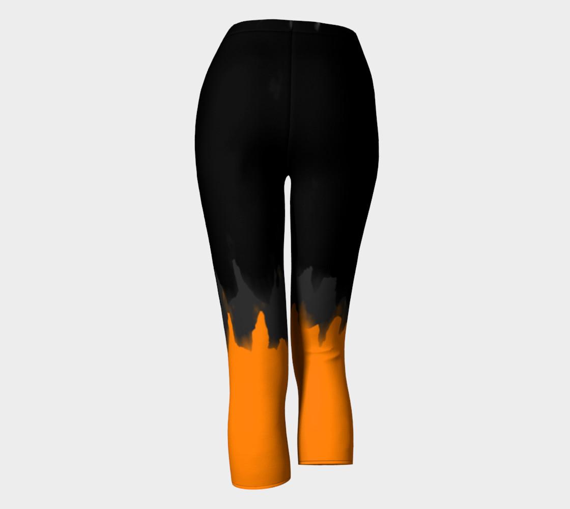 Black Grey & Orange Paint Smear preview #4