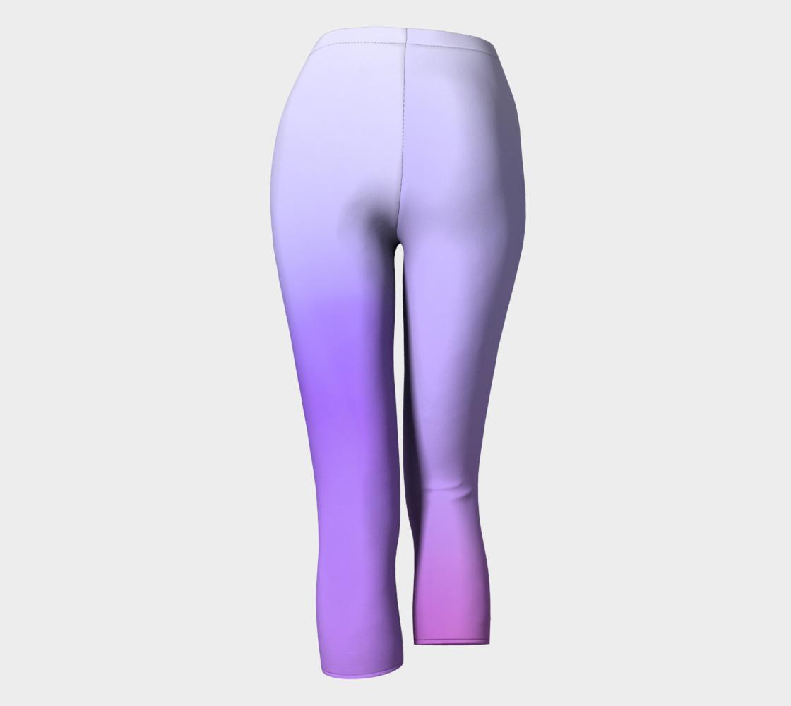 Purple Coast Fog Capris leggings preview #4