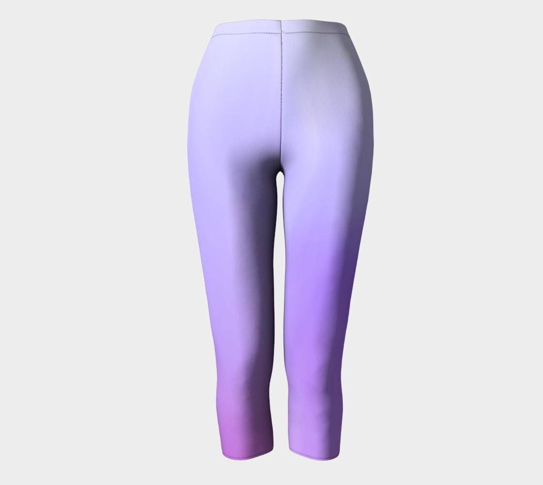 Purple Coast Fog Capris leggings preview #2
