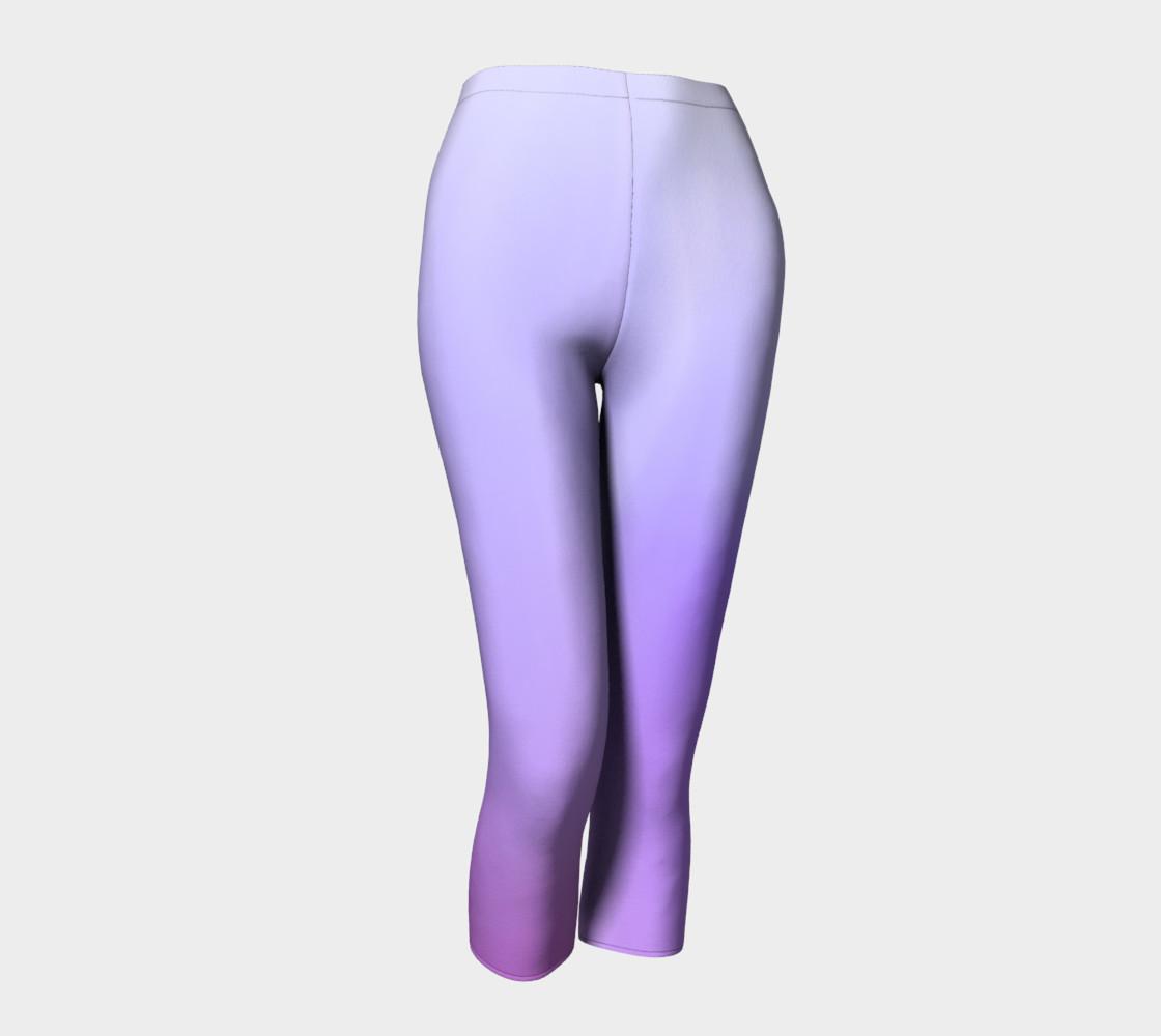 Purple Coast Fog Capris leggings preview #1