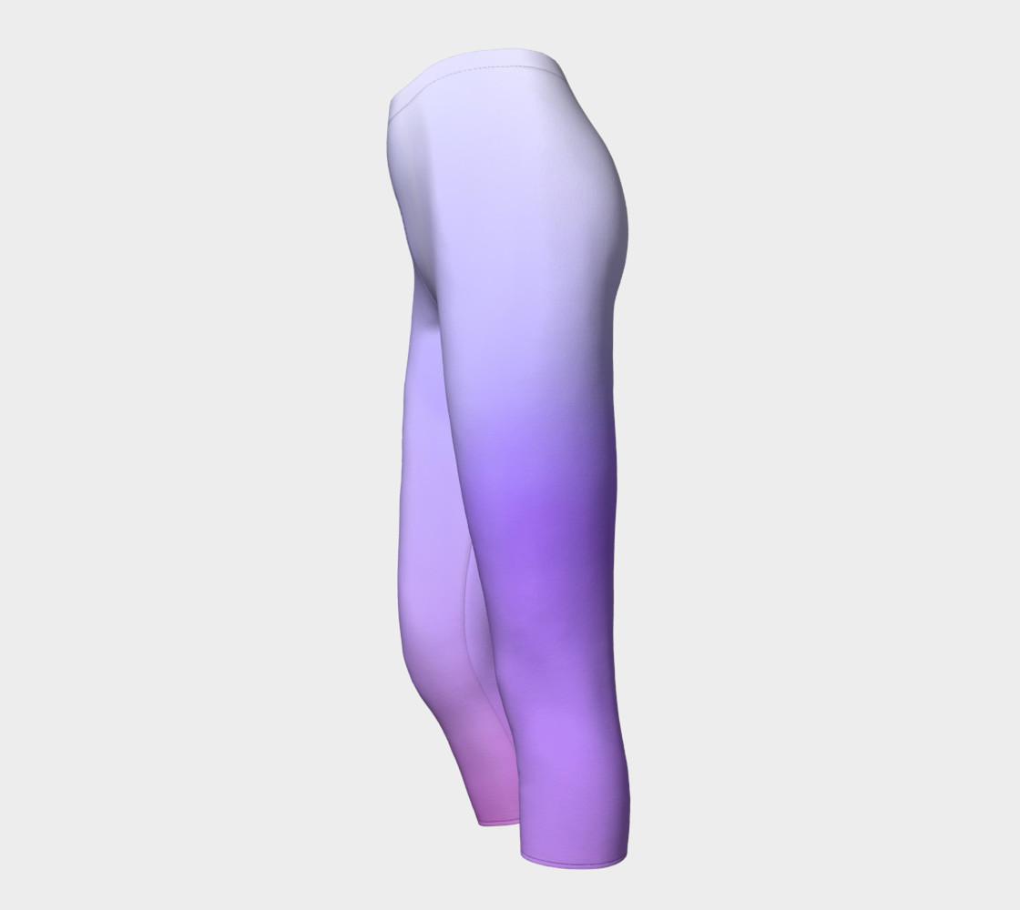 Purple Coast Fog Capris leggings preview #3