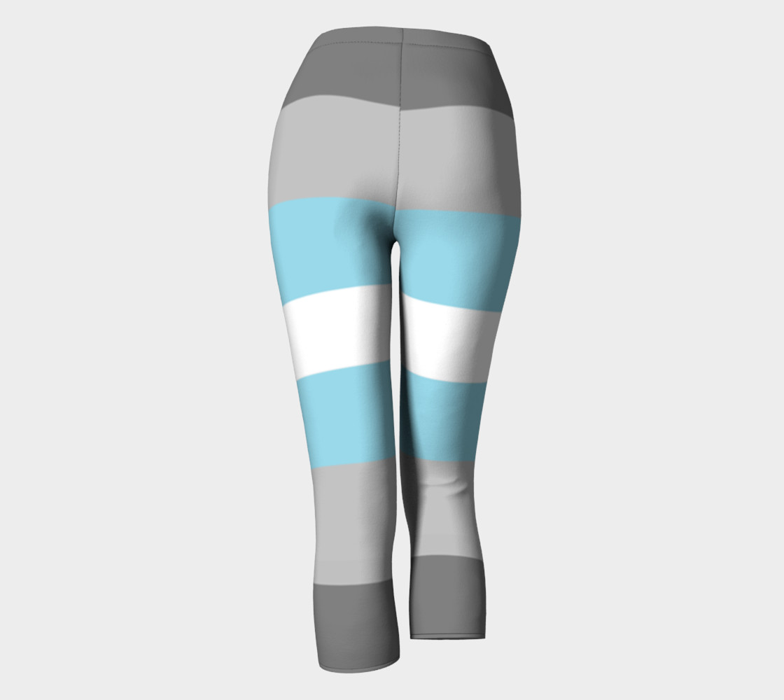 Demiboy LGBT Capris leggings preview #4