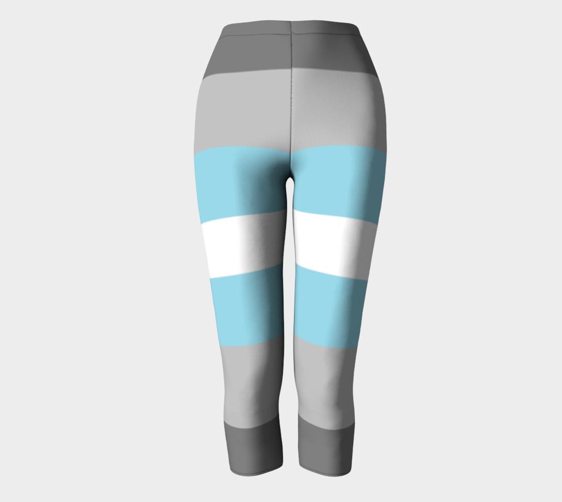 Demiboy LGBT Capris leggings preview #2