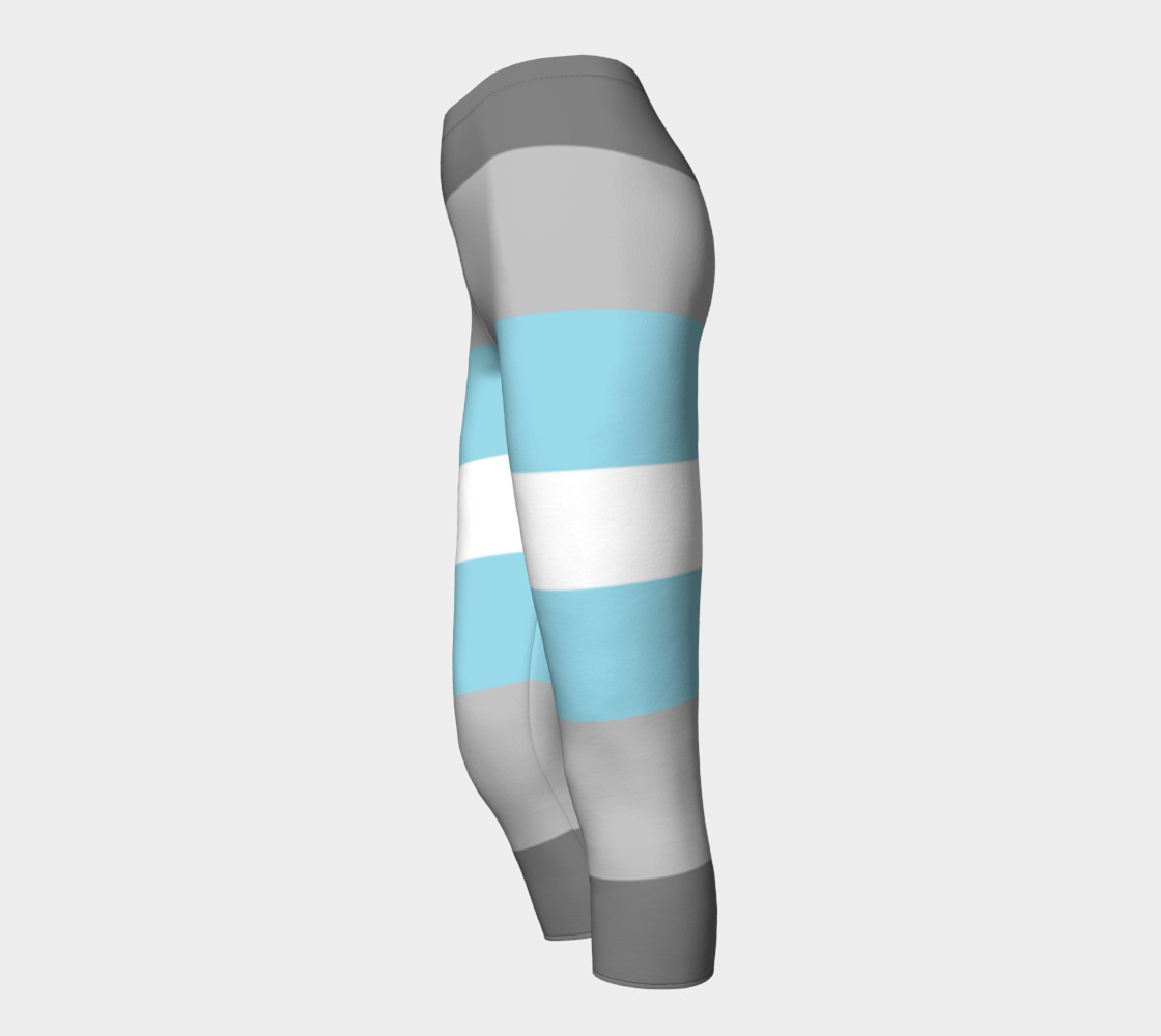 Demiboy LGBT Capris leggings preview #3