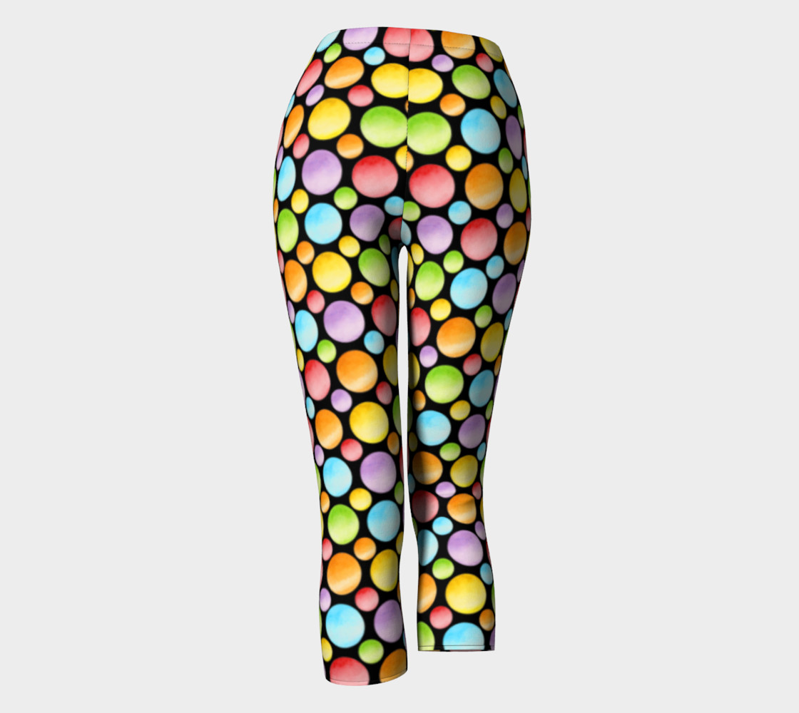 Aperçu de Rainbow Polka Dots Ankles smaller dot #4