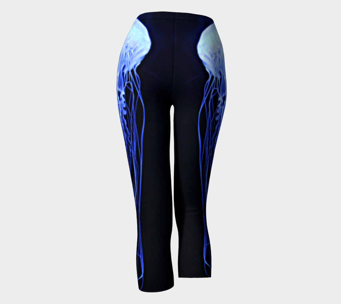 Moon Jelly Black Light Reactive Capri preview #4