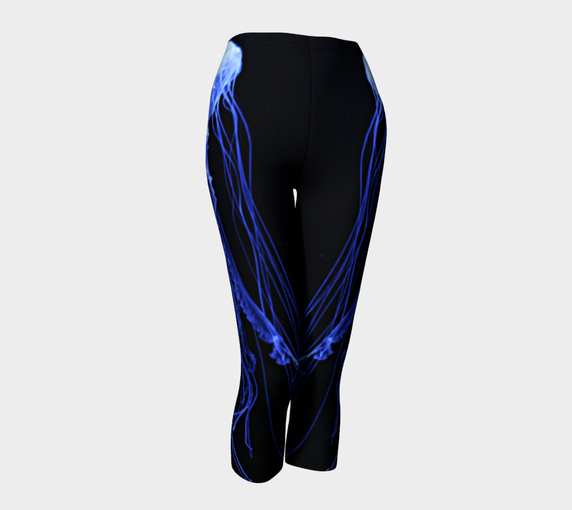 Moon Jelly Black Light Reactive Capri preview #1