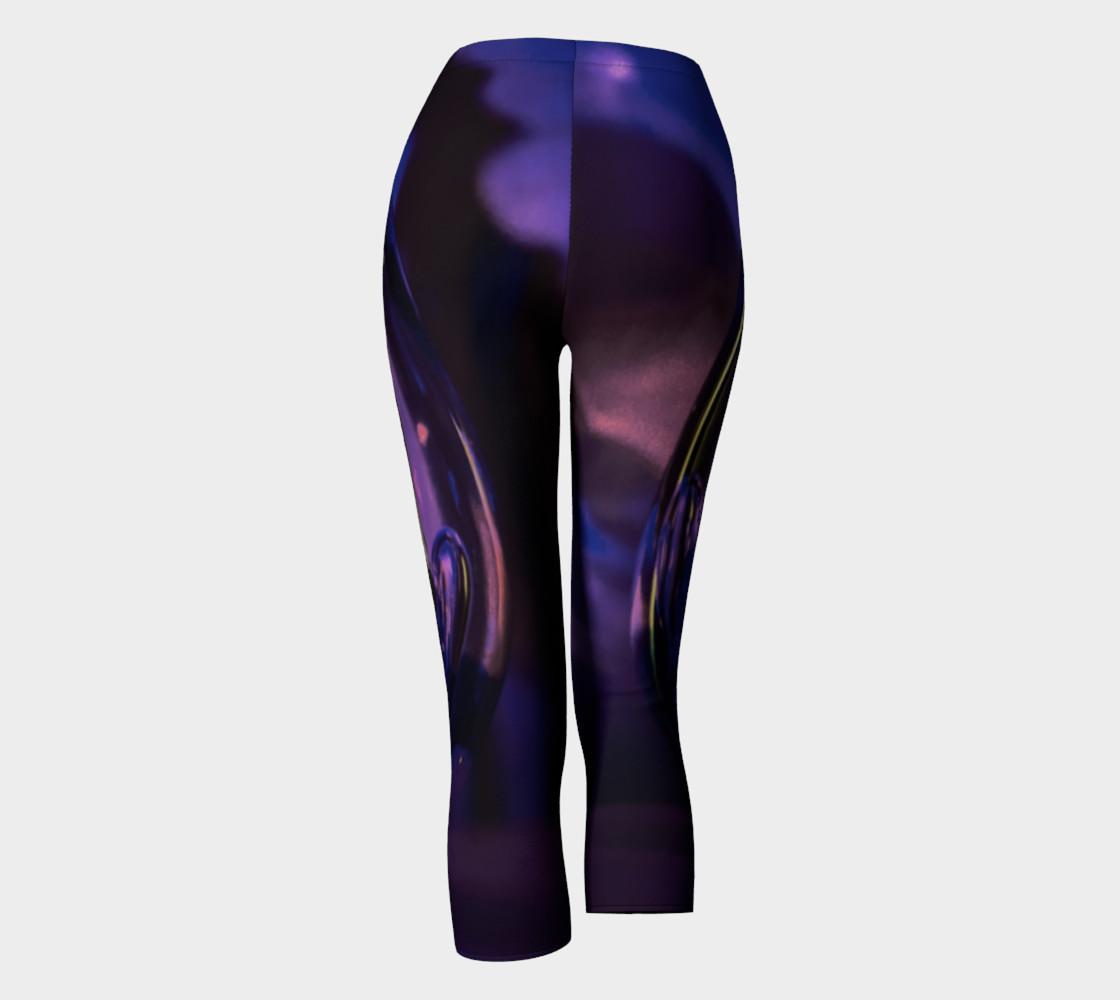Purple Women Capris preview #4