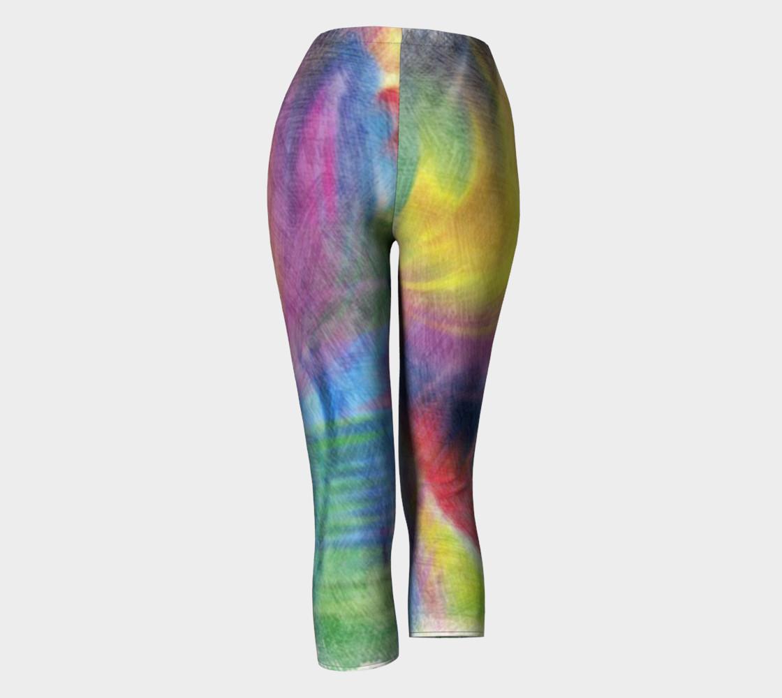 EC Exclusive Spring Pastels Capri leggings preview #4