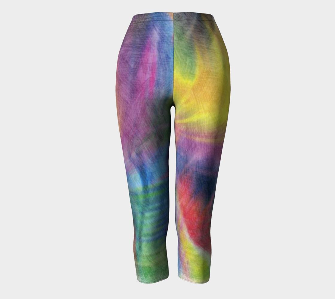 EC Exclusive Spring Pastels Capri leggings preview #2