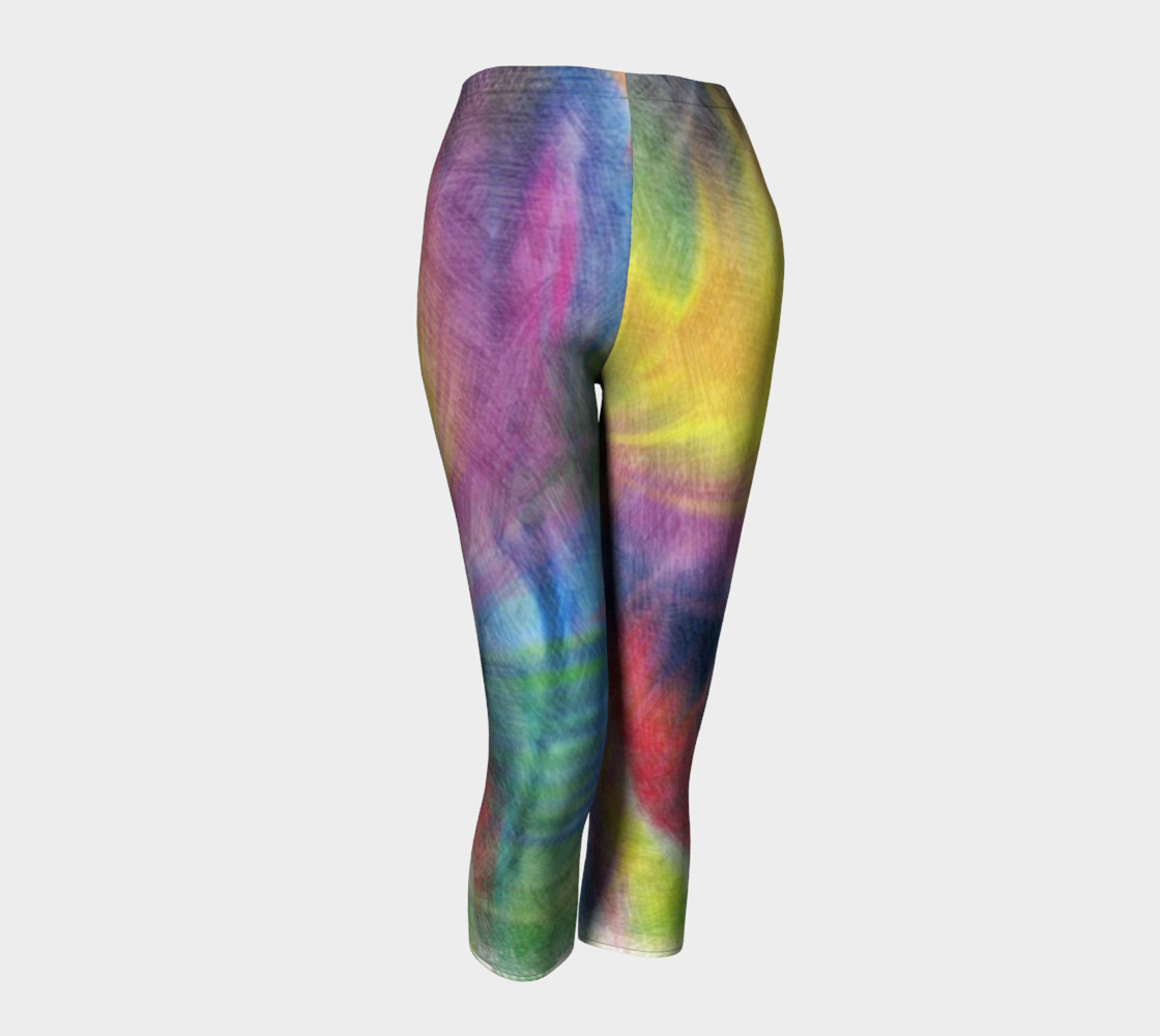 EC Exclusive Spring Pastels Capri leggings preview #1