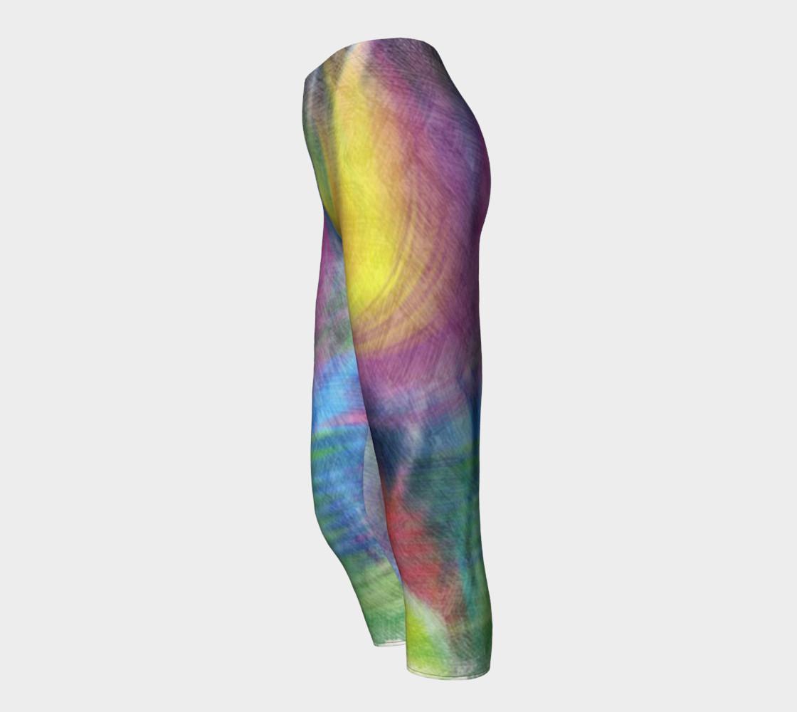 EC Exclusive Spring Pastels Capri leggings preview #3