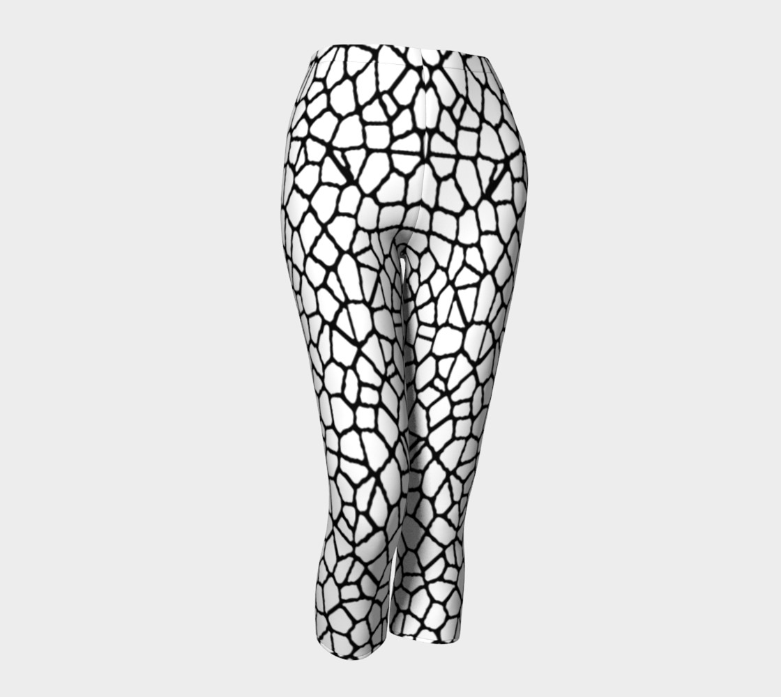 staklo (white/black) capris 3D preview