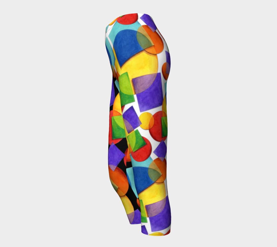 Aperçu de Candy Rainbow Geometric #3