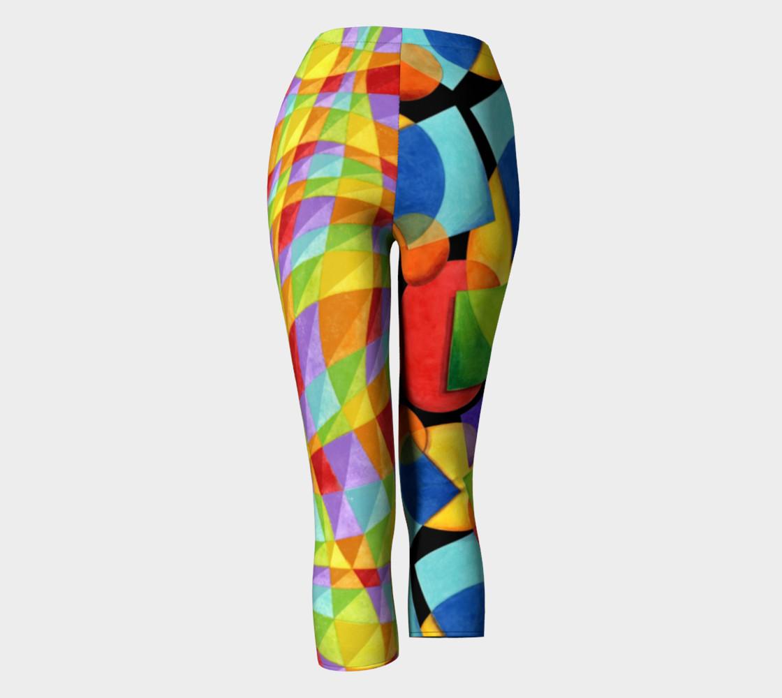 Aperçu de Rainbow Geometric & Plaid #4