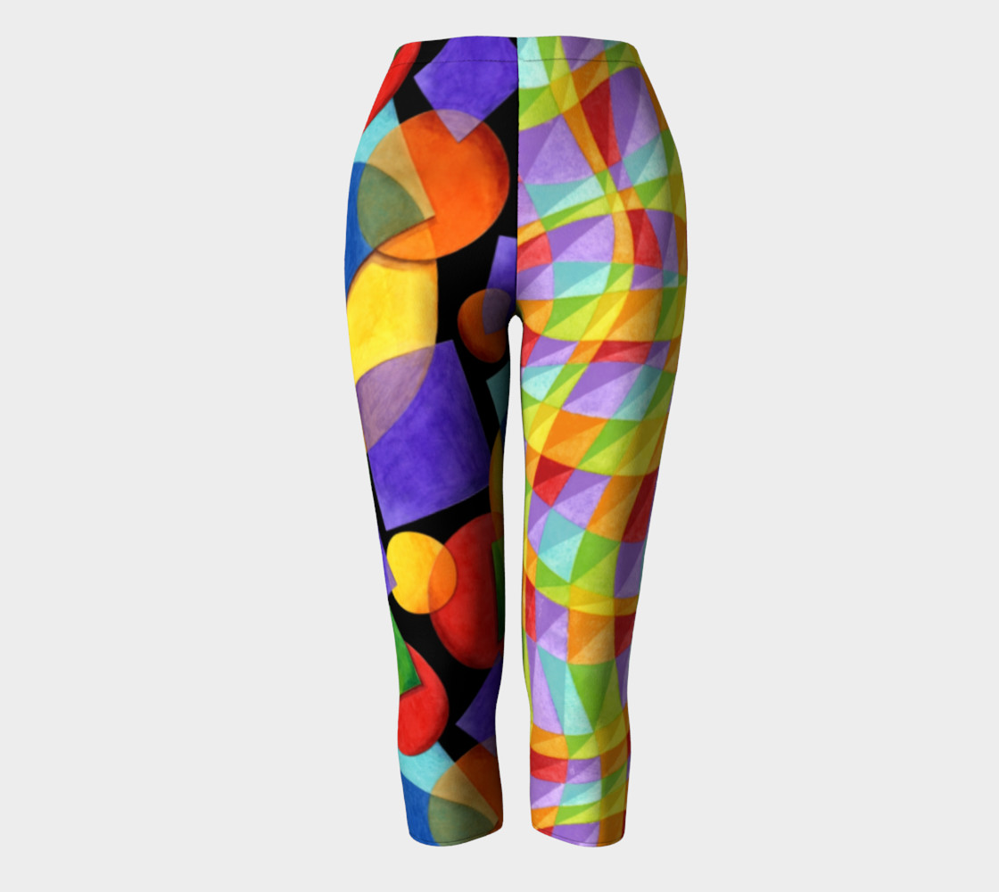 Aperçu de Rainbow Geometric & Plaid #2