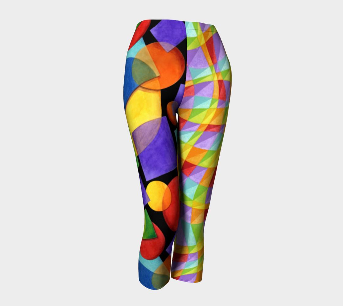 Aperçu de Rainbow Geometric & Plaid #1