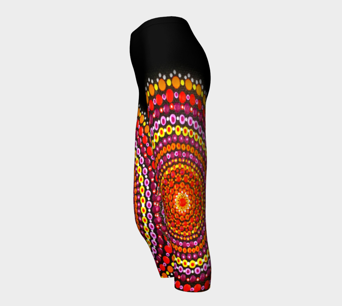 Dotty Mandala Capris Miniature #4