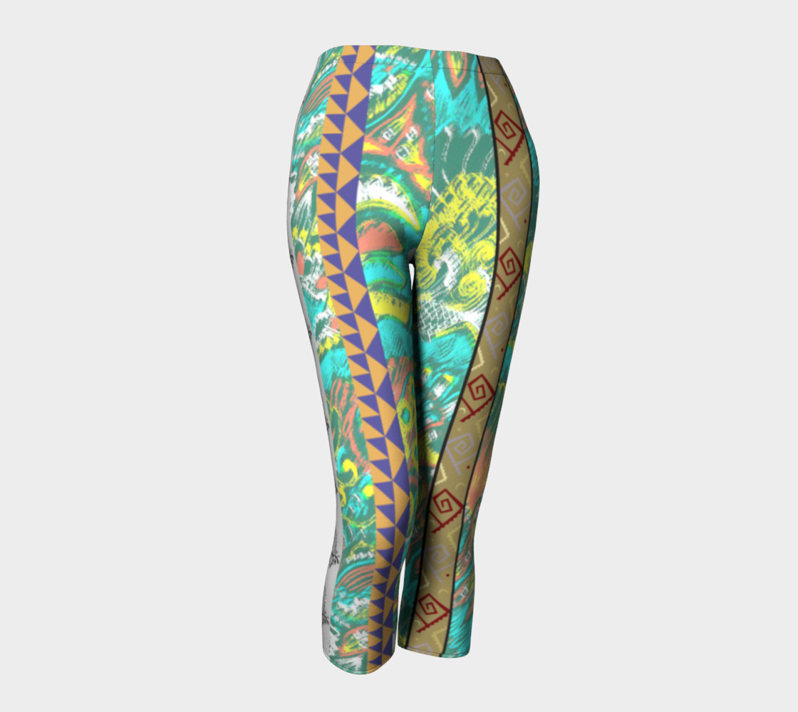Fish Deco Capris  102-4 preview #1