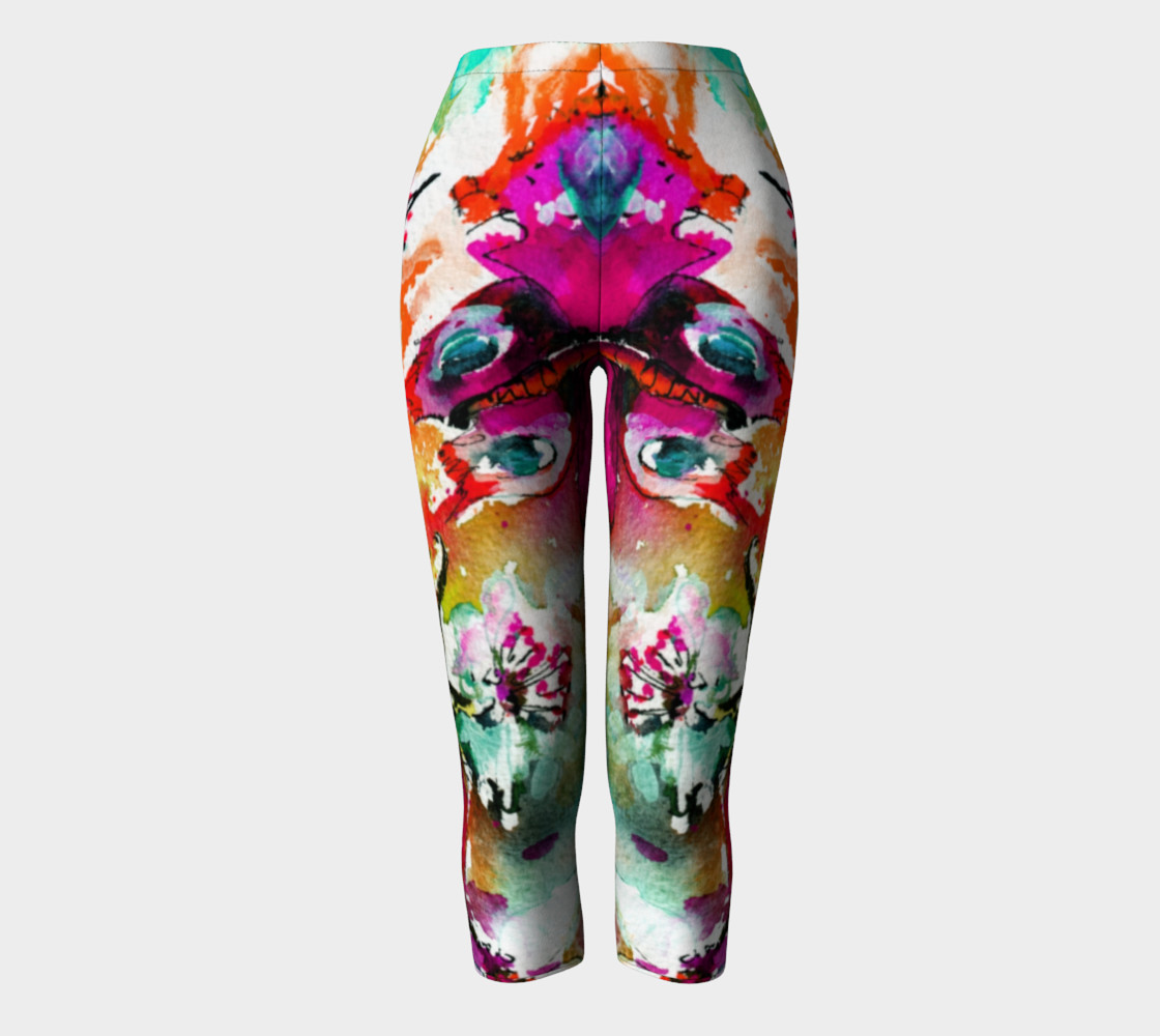 Pink Butterfly Capris preview #2