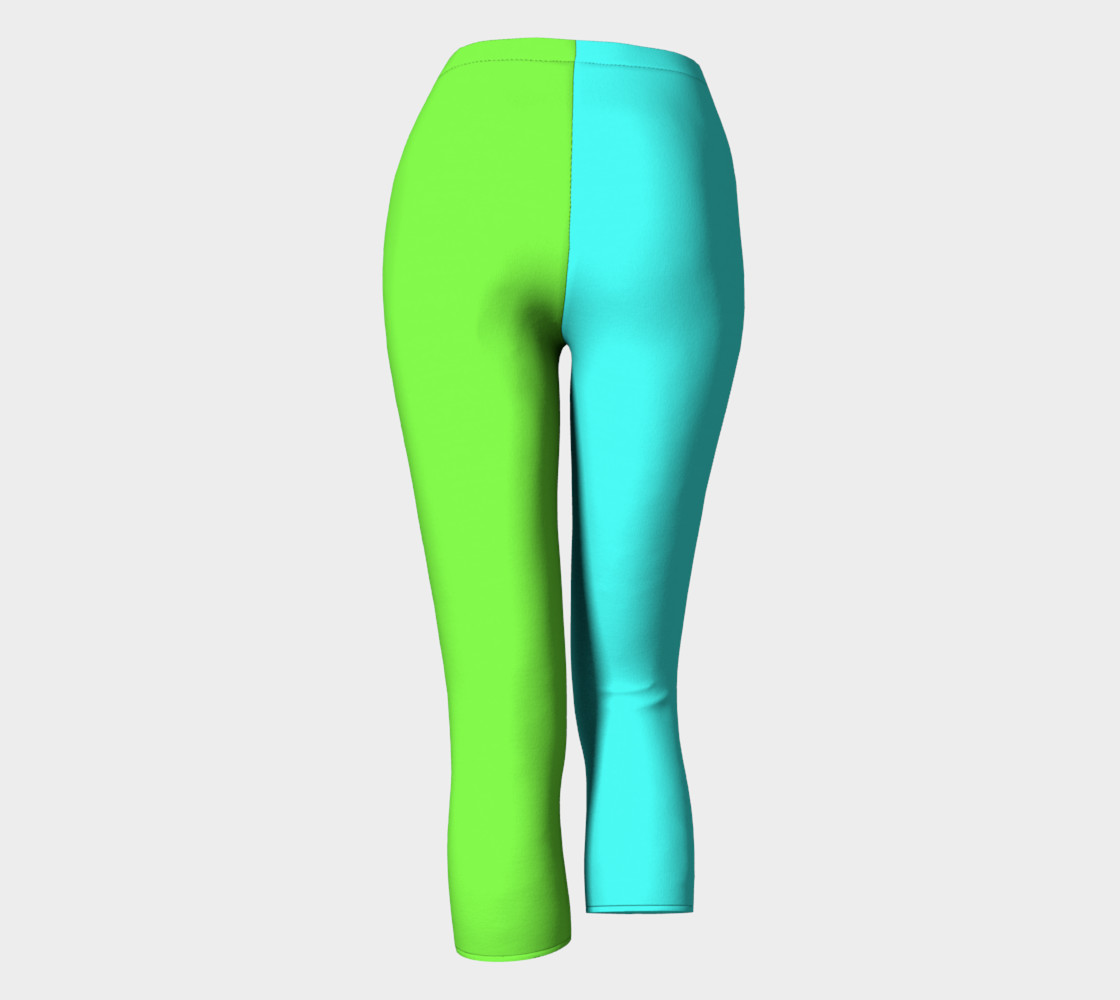 Minty Lime Capris preview #4
